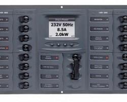 AC paneli s digitalnim instrumentima